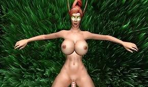 Une animation du monde porno  WOW épisode 4