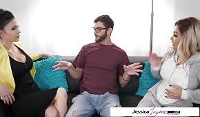 Jessica Jaymes préfère le sexe dans un triangle