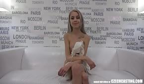 Un petit tchèque pour le casting sexe