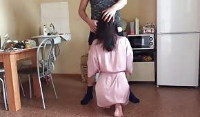 Sexe anal avec la maîtresse de maison