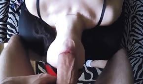 Énorme pénis dans un utach amateur