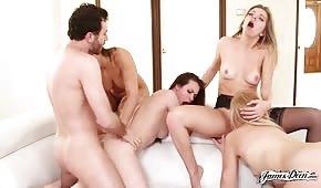 Porno de groupe avec des femmes sexy